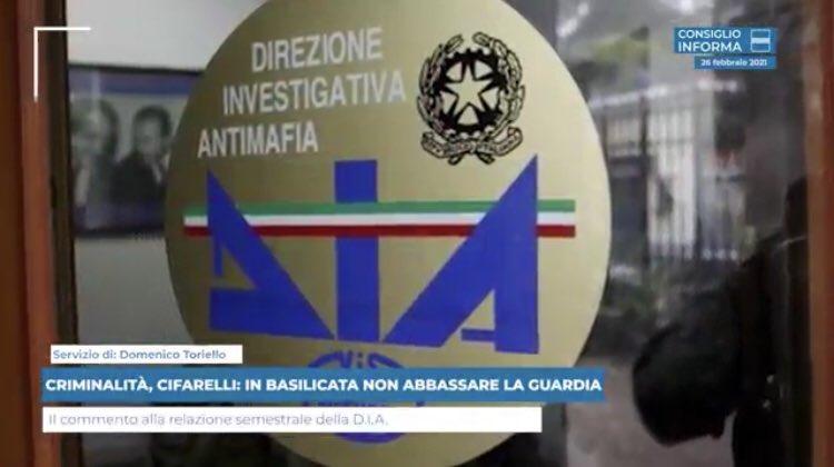 RT @CRBasilicata: CRIMINALITÀ, @rocifa1163: IN BA...