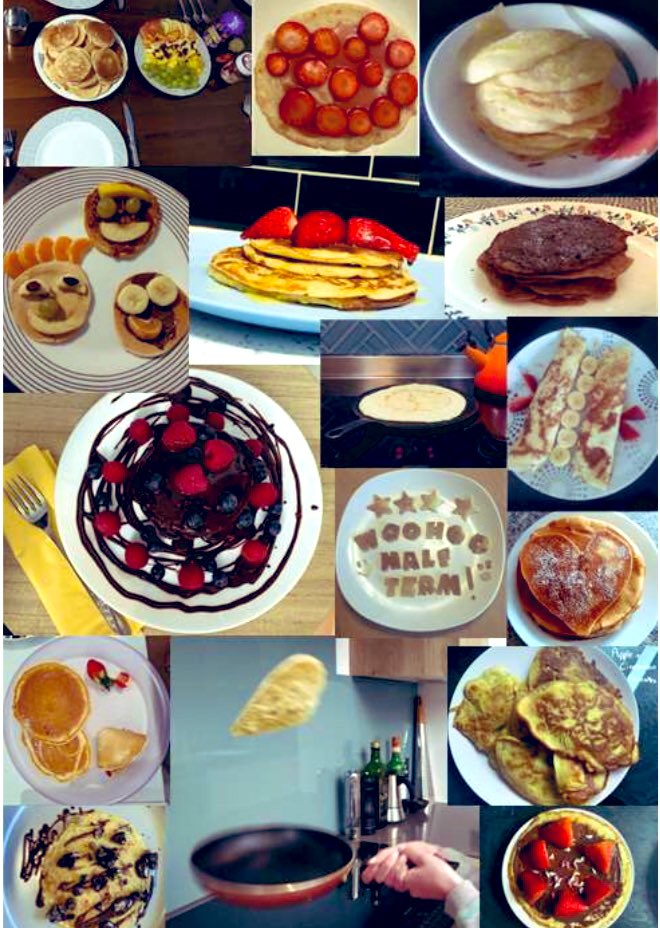 Students had a flipping marvellous time on pancake day in the half term week! We wanted to encourage students to get away from screens to make pancakes & help create a CWS #wallofpancakes #CWSfoodtechnology #makegoodchoices ##fridayvibes #Croydon