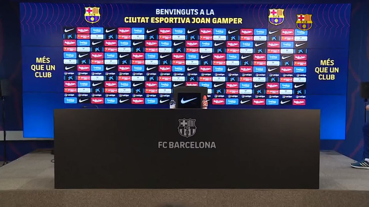 ⚡️LIVE NOW! ⚡️ @RonaldKoeman press conference ahead of #SevillaBarça 💪🟦🟥  🖥 Watch now on Barça TV+:
