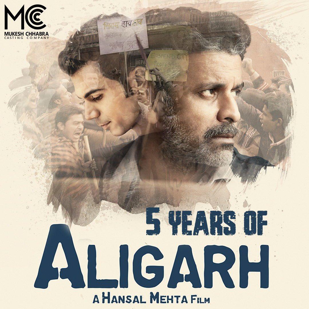 NOW 5 years complete of @BajpayeeManoj's masterpiece #Aligarh the great film by @CastingChhabra