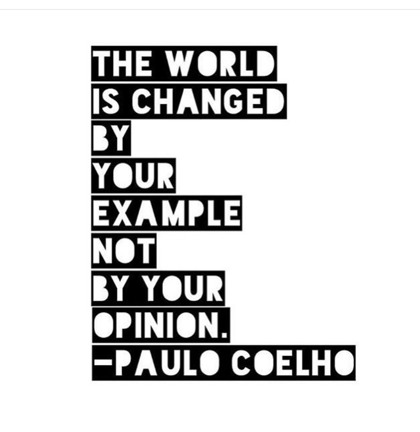 Feeling this today. ❤️👇🏽 #fridayvibes #actionsspeaklouderthanwords #doingthework #showingup