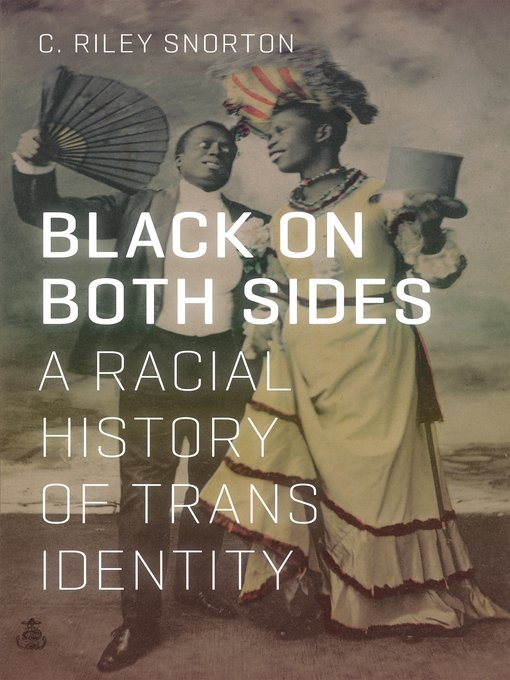 """test Twitter Media - """"Black on Both Sides: A Racial History of Trans Identity"""" by C. Riley Snorton  C. Riley Snorton details the intersection of black and trans identities from the mid-19th century to today, and in doing so, highlights the lives of integral black trans.  #ucasu #lgbtqhistorymonth https://t.co/v9aRdXPH1U"""
