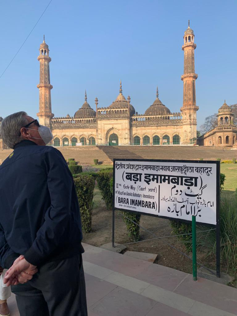 Experienced the beautifully preserved architectural magnificence of Bada Imambara in #Lucknow. A must visit if you are in the city. #IncredibleIndia
