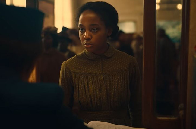 FIRST LOOK | Thuso Mbedu in Barry Jenkins' limited series The Underground Railroad - @ThusoMbedu