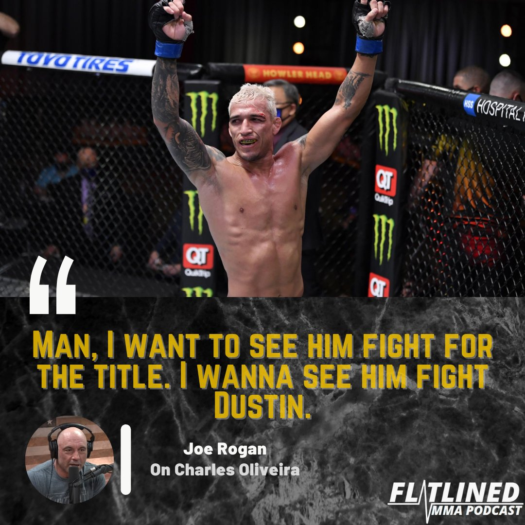 Will we see Oliveira fight Poirier for the title this year?👑 . . . #lightweight #ufc #mma #like #follow #title #andnew #dustinpoirier #charlesoliveira #brazil #submission #boxing #striking #knockout #conormcgregor #fight #win #champ #champion #wrestling #hotsauce #diamond