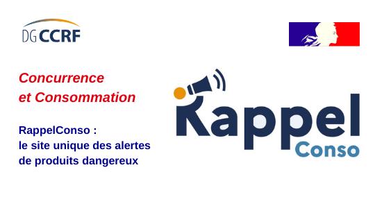 RappelConso : une nouvelle plateforme en ligne pour informer les consommateurs. EvK22SlWgAM2Dog
