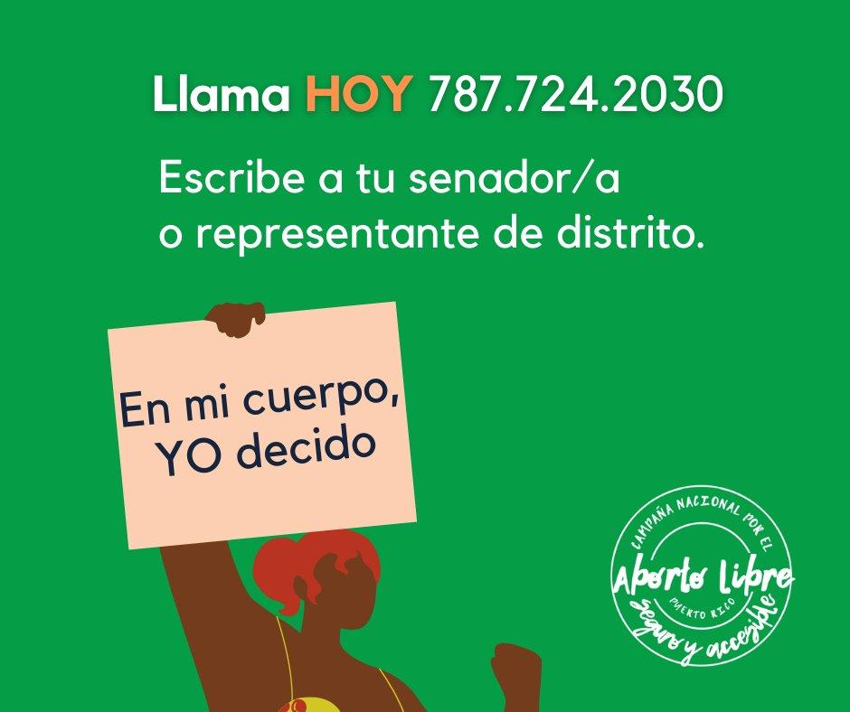 Expresa tu apoyo al #PS184. Llama al Senado y hazte sentir.  Diles:   #SIalPS184 #NOTerapiasDeConversion #YODecido #AbortoLibreSeguroAccesible  8/8
