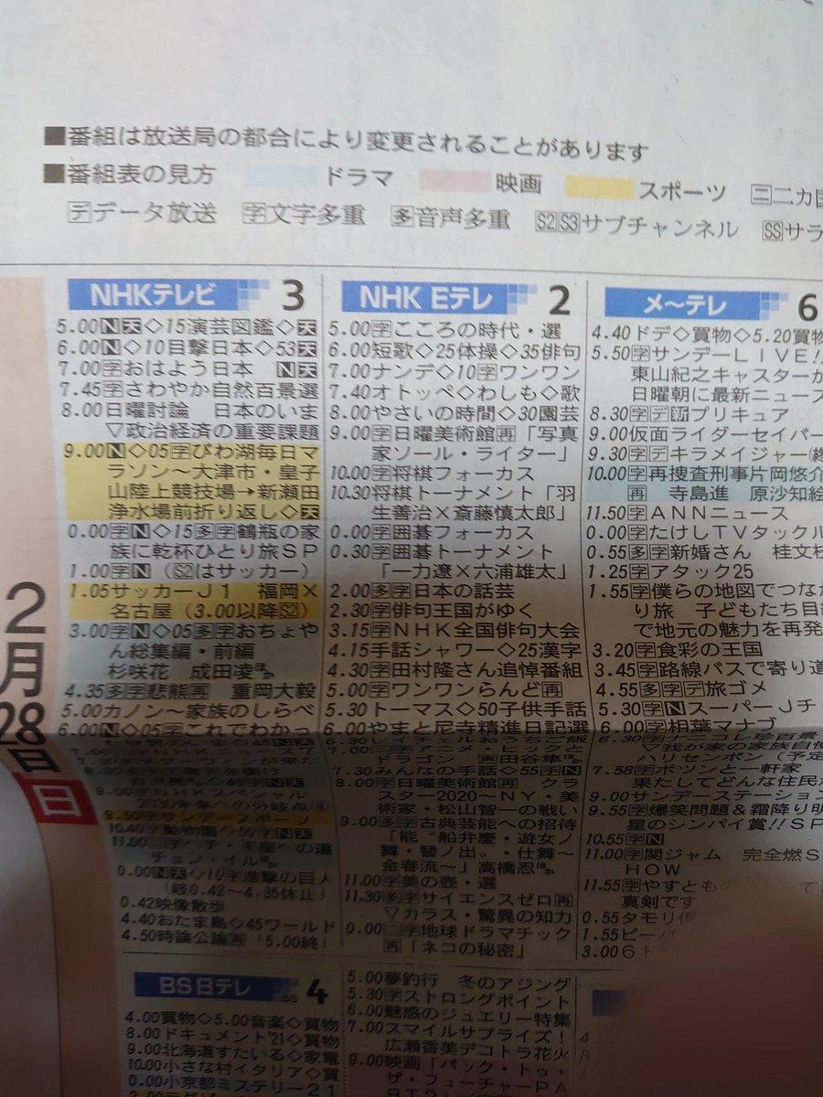早速届いた #朝日新聞 の週間番組表から。日曜日の #グランパス は、たのしみだけど、 来週のオープン戦 #中日ドラゴンズ の試合が #バンテリンドームナゴヤ www https://t.co/XpEL5WA2Ue