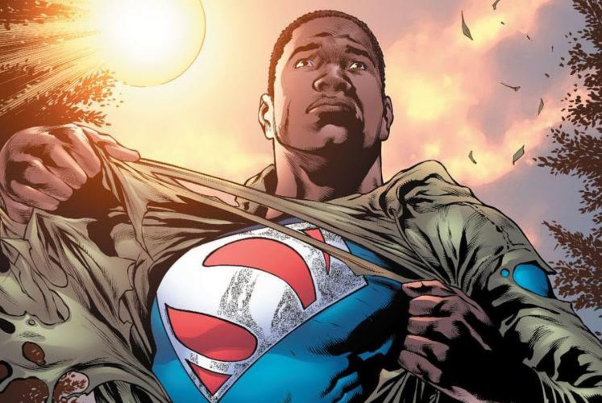 Warner Bros is intending to introduce audiences to a Black Superman.  (Source: @Borys_Kit)