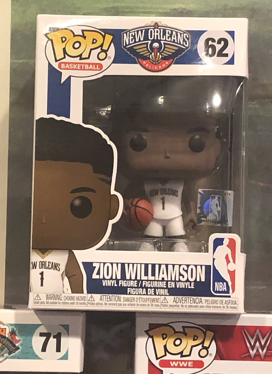A small mailday today. Just 1 piece. A ZION WILLIAMSON Pop Funco for the collection. #Pelicans #zionwilliamson #YesSir