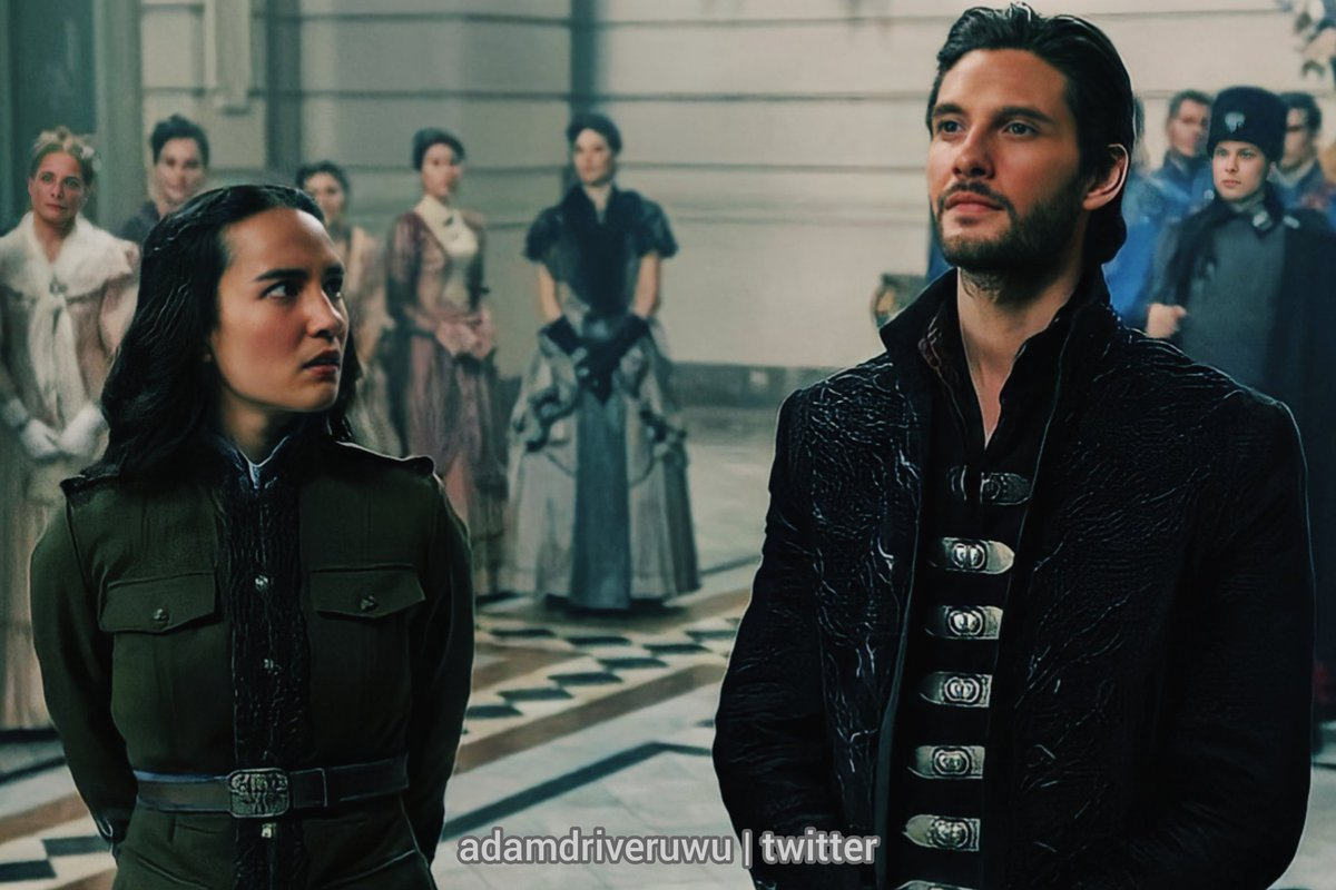 We will be tuning in just because of this pic of them together #shadowandbone