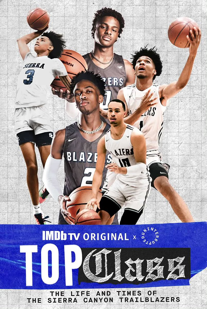 Replying to @djmeel: Top Class is now on @PrimeVideo for FREE...@IMDbTV 🔥🏀. Go watch that!!!!