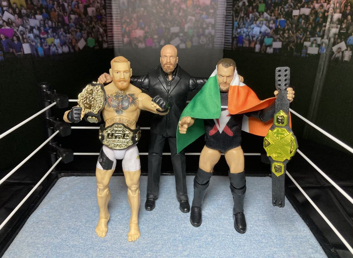 Triple H x @TheNotoriousMMA x Bálor