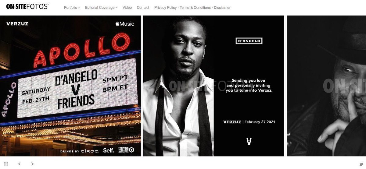 @VerzuzOnline presents @TheDangelo v. Friends live from @ApolloTheater!  Tune in on Saturday, February 27th at 5pm PT|8pm ET live on @VerzuzTV (@Instagram) or in HD on @AppleMusic → Powered by @Selffinancial, @Target → Drinks by @Ciroc • #VerzuzAtTheApollo #VERZUZ #DAngelo