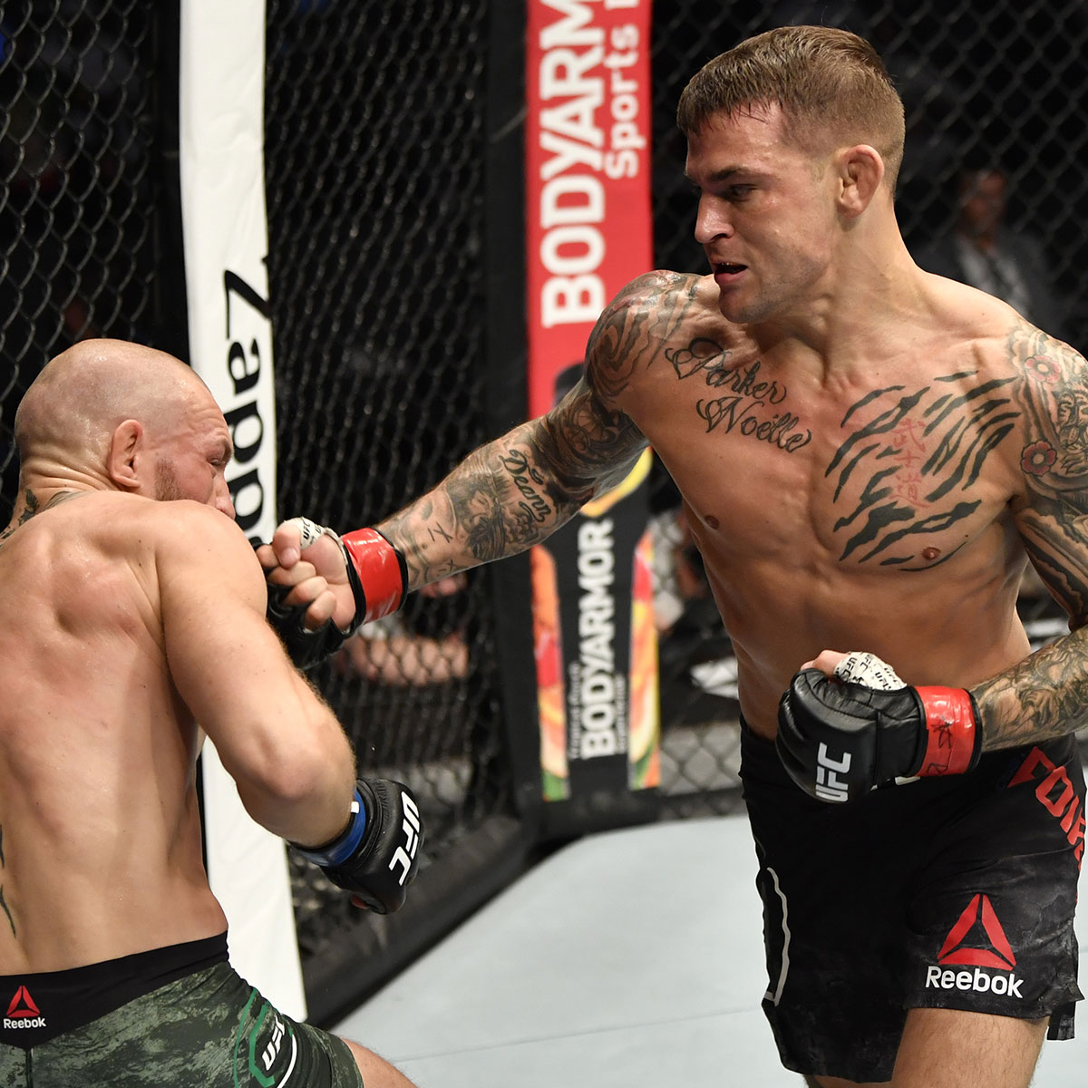 Was it the biggest night of @DustinPoirier's career?  It sure as hell felt like it!  #UFC257 is available NOW on #UFCFIGHTPASS!!!