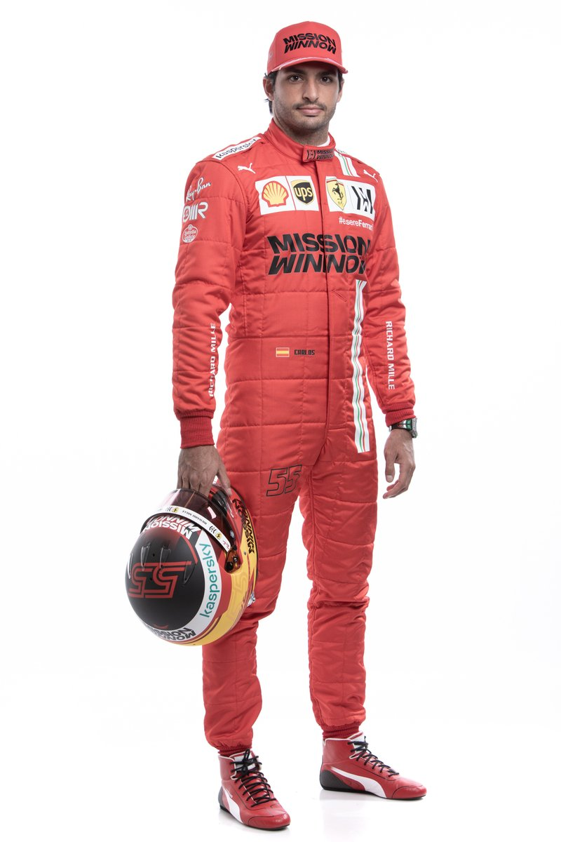 Introducing your 2021 @ScuderiaFerrari line-up of @Carlossainz55 and @Charles_Leclerc 👊  #F1 https://t.co/SeosUa1u24