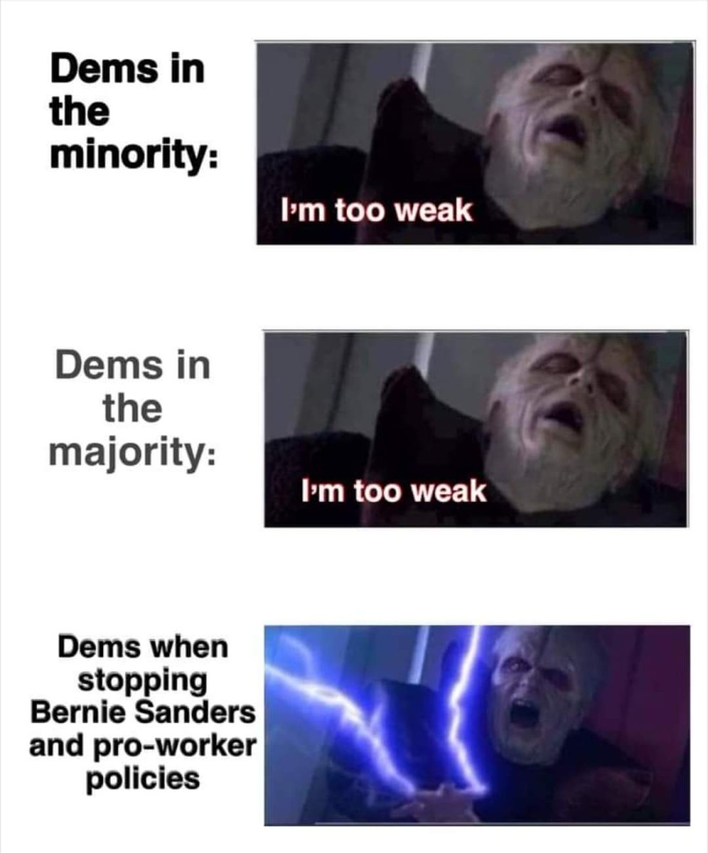 Dems, go big or go home and say goodbye to any semblance of a Democracy. #Berniememe #dems