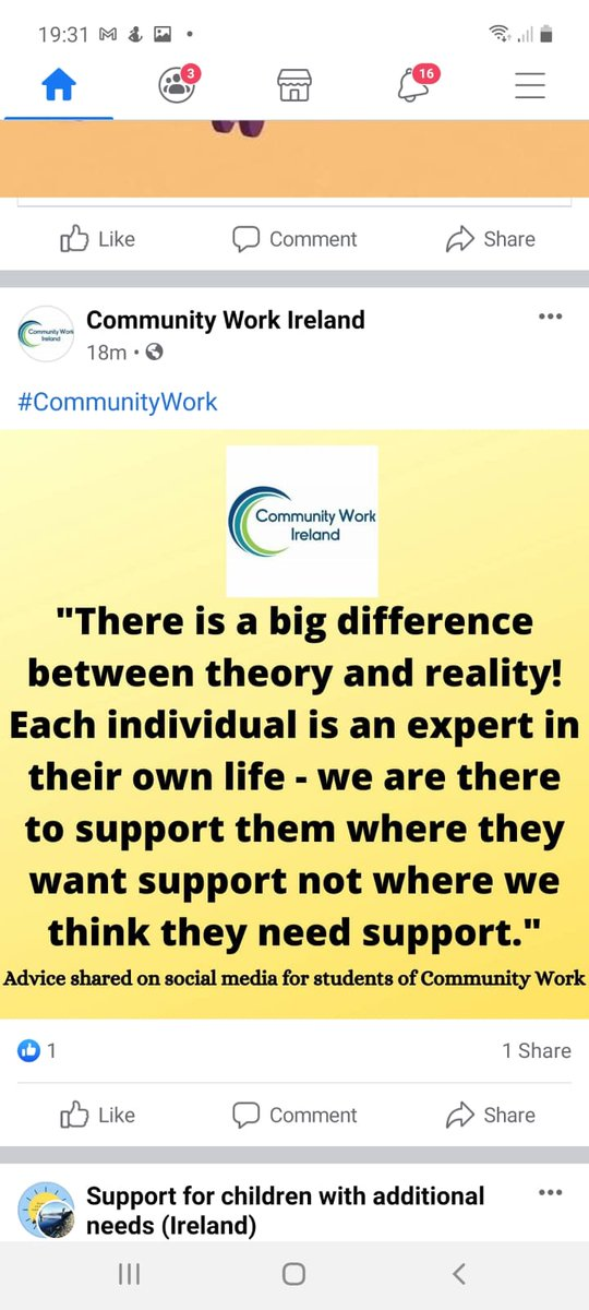 @DrFrancesRyan Nothing About Is Without Us has to be the key goal for all policy makers. Redefining the term expert is vital. A friend of mine wrote this recently about Community Development, and it must apply to everything we do in society. Patriarchy must end for society to thrive.