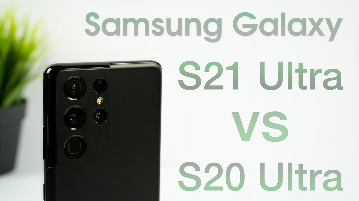 And here's the link to the S21 Ultra review!   Samsung Galaxy S21 Ultra In-Depth Review (vs S20 Ultra) | The Best Android    RTs appreciated!   @SamsungMobile @SamsungMobileUS @Samsung @SamsungUK #samsung #GalaxyS215G #GalaxyS21Ultra #S21Ultra