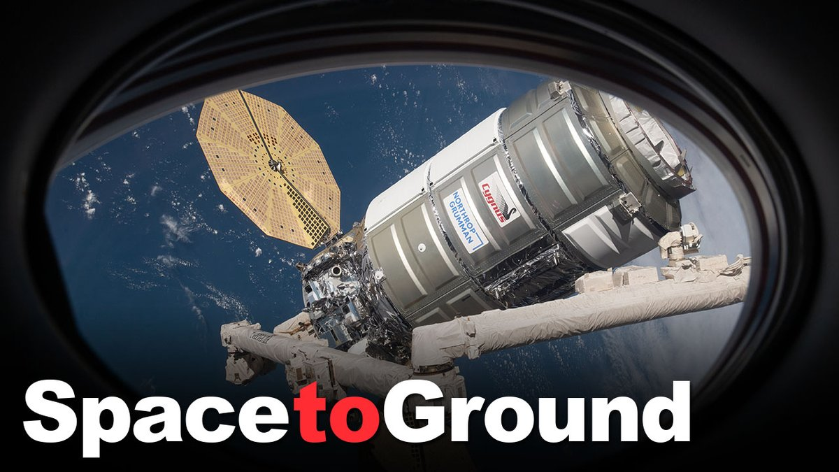 This week a cargo resupply vehicle arrived to the Space Station and astronauts prepare to venture outside the hatch into the vacuum of space for a spacewalk. #SpaceToGround
