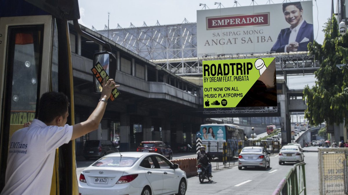 Replying to @SPRKYWASTAKEN: New billboard in EDSA? POG!