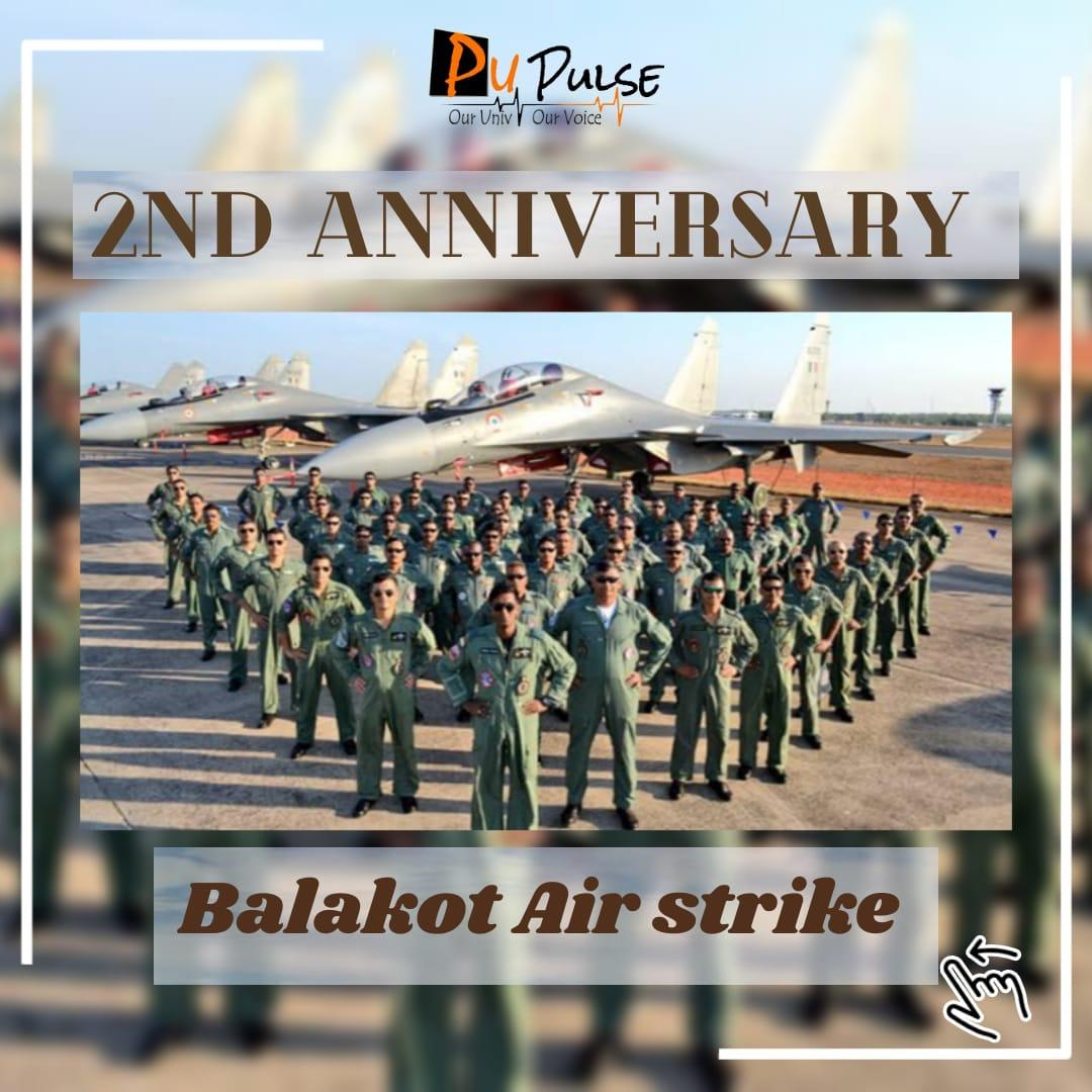 Lets mark 2 year anniversary of famous ' #AirStrike', carried out by #India in #Pakistan in response to the deadly #PulwamaAttack that claimed the lives of 40 CRPF personnel.  PU Pulse salutes Indian army!  Know more:   #Indian #pupulse #AirStrikeinBalakot