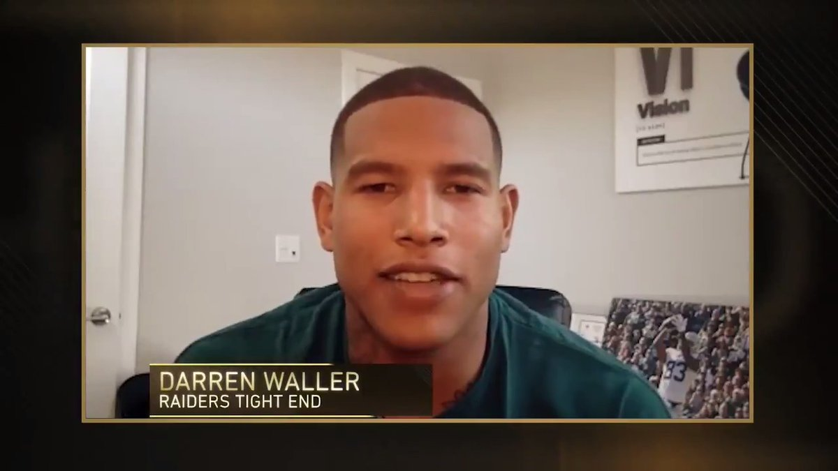 Famous jazz musician Fats Waller was an inspirational force setting the tone for many black musicians during the 1930s and 40s.   His great-grandson and @Raiders tight end Darren Waller tells us more about his legacy in today's Black History Moment.