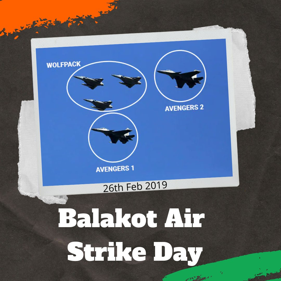 The 2019 #BalakotStrike was conducted, when Indian warplanes crossed the de facto border in disputed region of #Kashmir & dropped bombs in the vicinity of Balakot in Khyber Pakhtunkhwa province in Pakistan & killed 300 terrorists.  This is how we revenged Pulwama Attack Jai Ho🇮🇳
