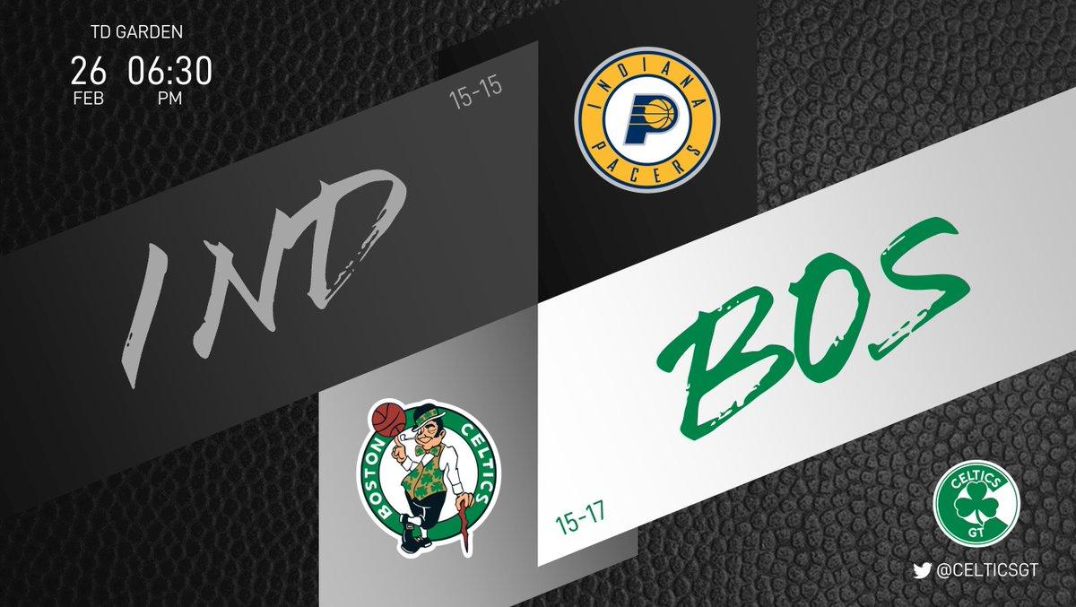 ¿Tal vez ahora que regresamos al TD Garden volvemos a ganar? Estar en el puesto 9 del Este es decepcionante. Se debe terminar fuerte   🏎 Pacers (15-15) ☘ Celtics (15-17) ⏰ 06:30PM  #WholeNewGame #Celtics https://t.co/PFg8v8FsEP