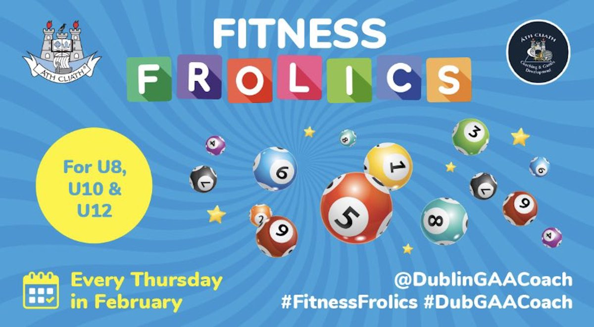 test Twitter Media - This week was the final week of @DublinGAACoach's Fitness Frolics.   Watch back the sessions here for U8s, U10s & U12s ➡️ https://t.co/DccuTd6rKT https://t.co/8SgziEES4Y