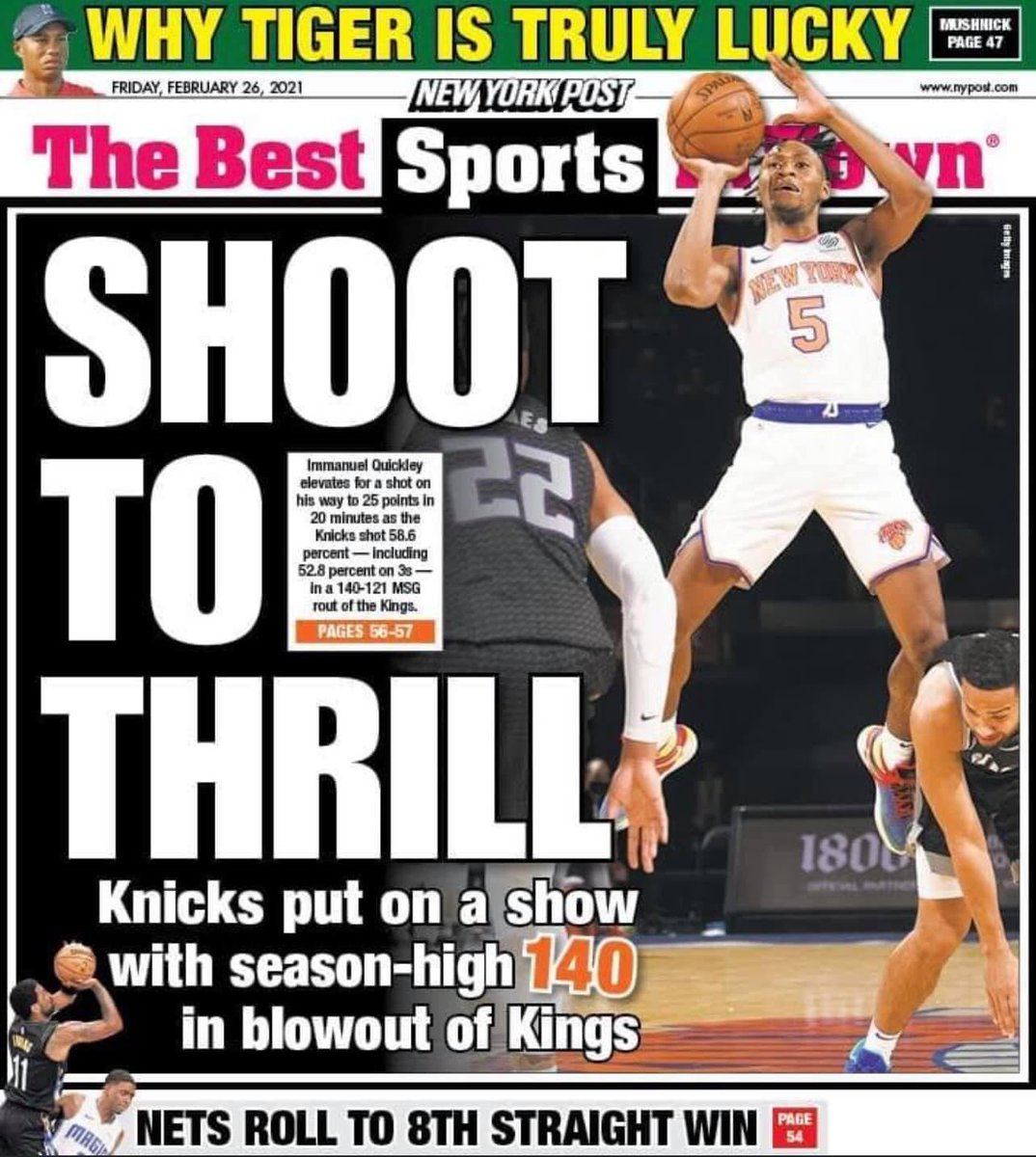 25 points and a back cover .. kids future looking bright  #newyorkforever ⚡️🔥