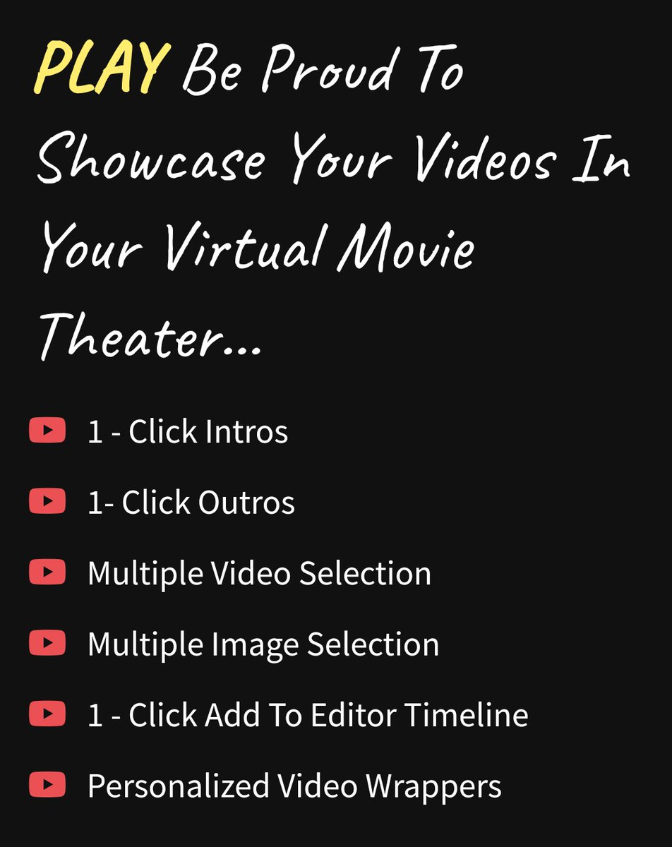 @SeamPayApp CREATE Oscar Winning Videos With Our Drag & Drop.. Cloud Based Re-Imagined Video Personalization Editor...   #GraphicDesigner #DigitalMarketing #DigitalMarketer #YouTubers  #videomarketing #content  #WorkFromHomeJobs 3