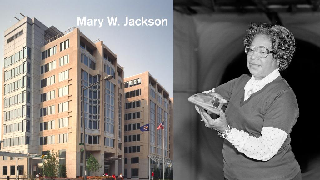 "No longer a ""hidden figure"", Mary. W. Jackson not only helped get astronauts to space, but she also hired and promoted the next generation of @NASA's female mathematicians, engineers and scientists.   Today, our headquarters building is named in her honor:"