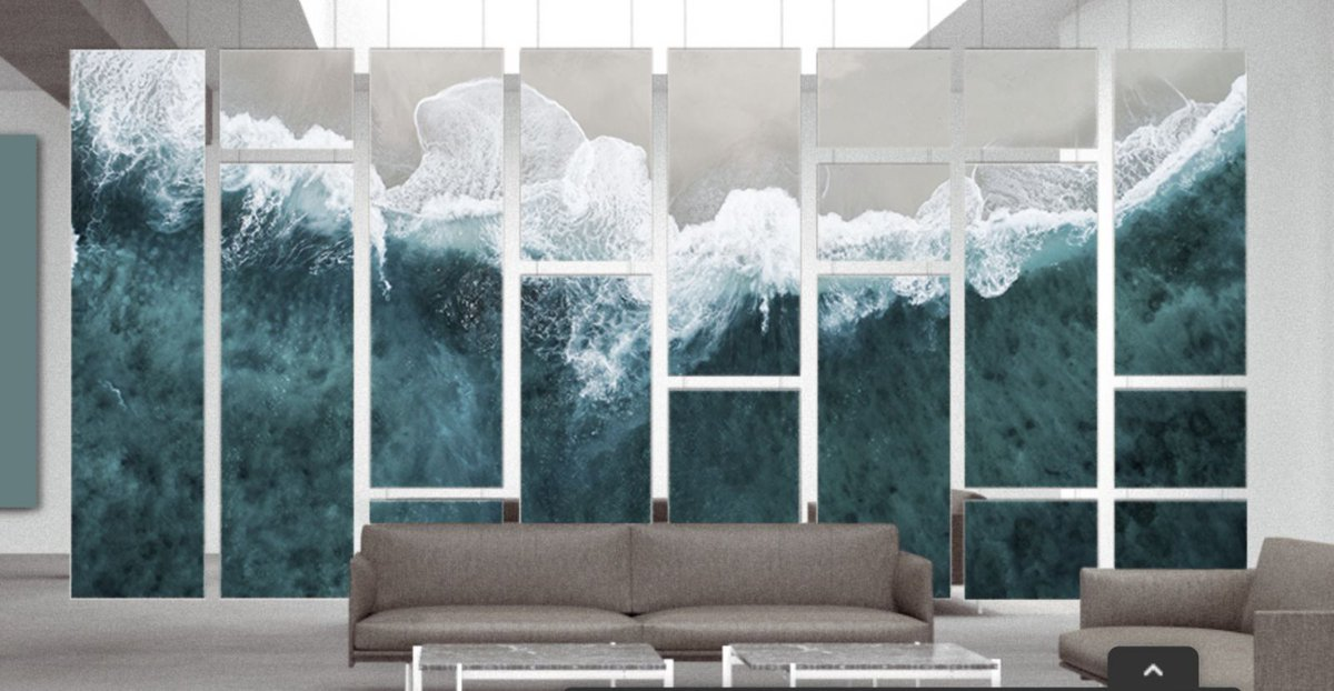 Introducing AKUART by Kirei - Artistic #Soundproofing for your Workplace or Home (Video):  @KireiUSA @CaraGreen #acoustics #wallpanels #walls #architecture #design #interiordesign #art #offices #workplace #officedesign #greenbuilding #sustainability #AKUART