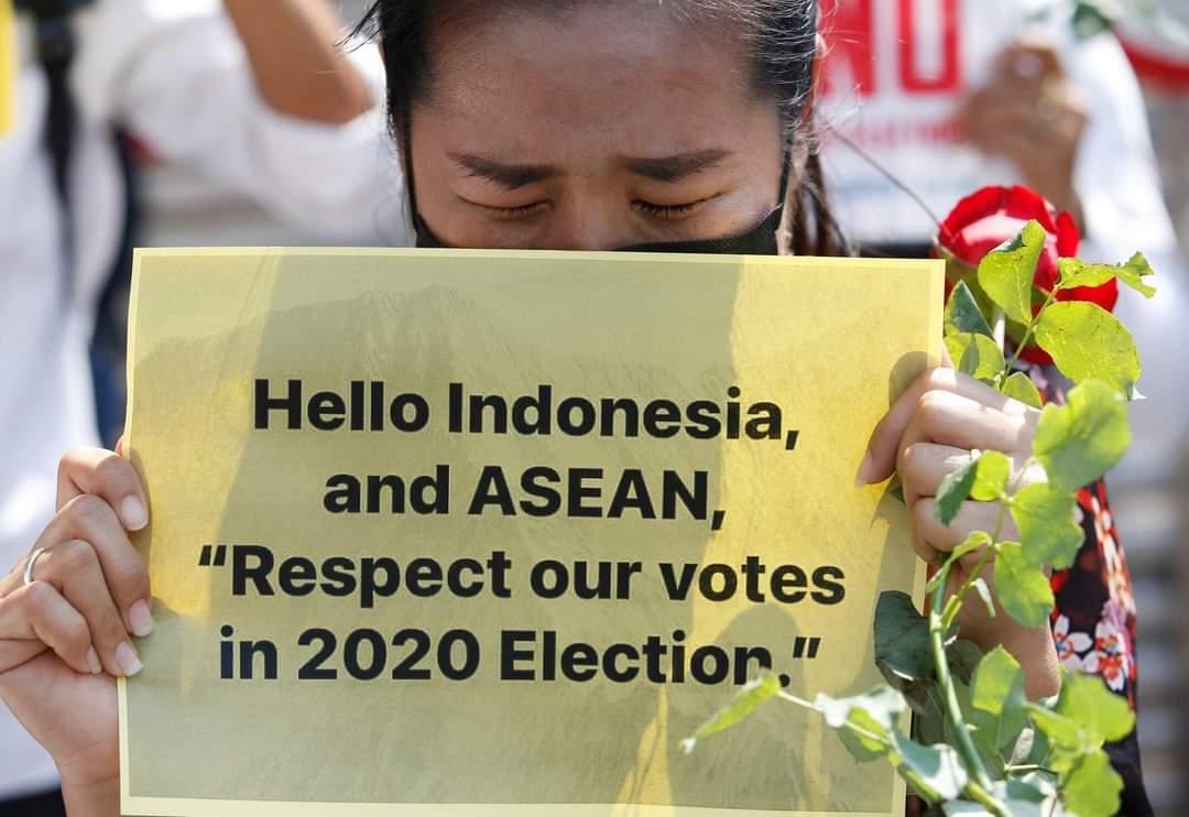 #Please respect our votes 🙏🙏 #ASEANRespectOurVotes  #ASEAN_Respect_Our_Votes  #HearTheVoiceOfMyammar  #feb23coup  #SaveMyanmarDemocracy  #SaveMyammar https://t.co/ASH0IAb4aS https://t.co/MRc5cckS4B