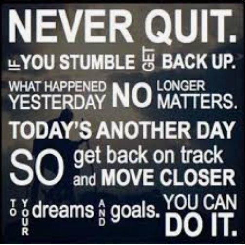 NEVER give up and success WILL BE YOURS!!  #fridaymorning #success #dream #NeverGiveUp #travel #quote #lifestapestrytravel