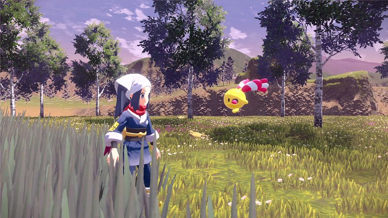 Replying to @pokejungle: Screenshots of Pokémon Legends Arceus