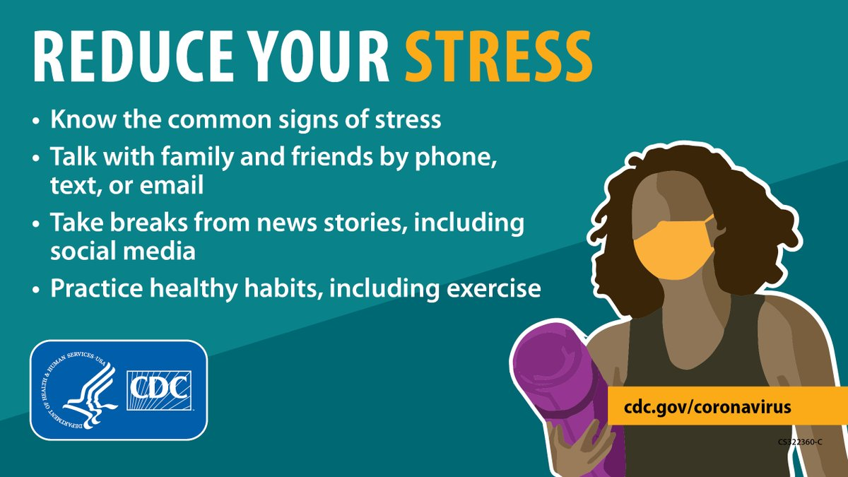 Everyone reacts differently to stressful situations like #COVID19. You may feel anxious, angry, sad, or overwhelmed. If you or a loved one feels overwhelmed, get support 24/7 by calling or texting 1-800-985-5990. Learn more: bit.ly/39UVoEj.