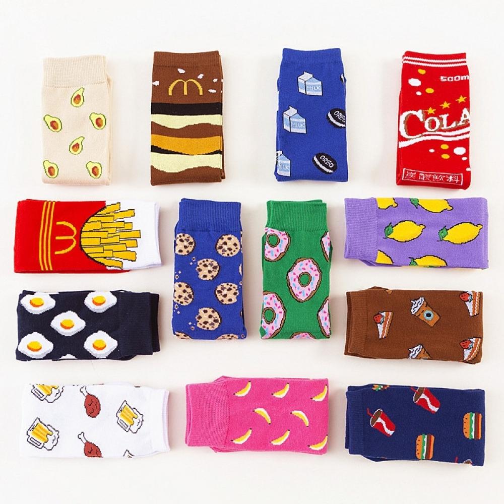 #beautiful #beauty Fruits Printed Socks for Girls