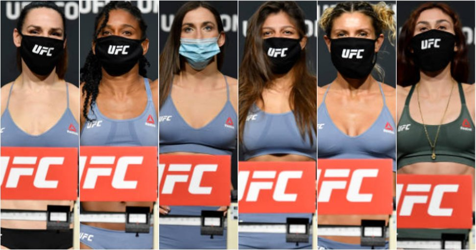 UFC Vegas 20 weigh-in results: All six women successfully make weight for Saturday's fights