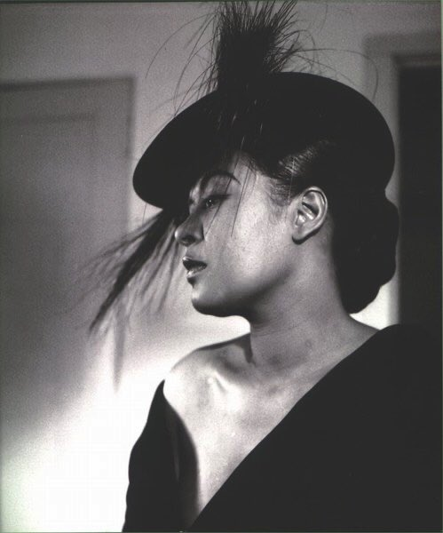 Replying to @black0rpheus: Publicity shots of Billie Holiday taken in 1952