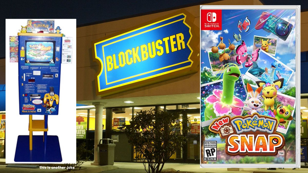 Another new and exciting leak has just revealed that Pokemon Snap Stations will be returning to Blockbusters across America