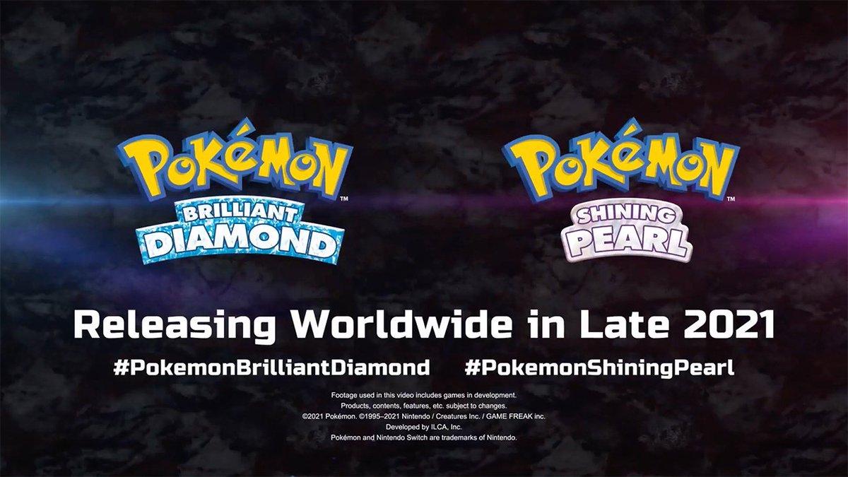 Gran directo del #PokémonPresents, por fin disfrutaremos de estos grandes Remakes 👌🏻 #Pokemon25thAnniversary