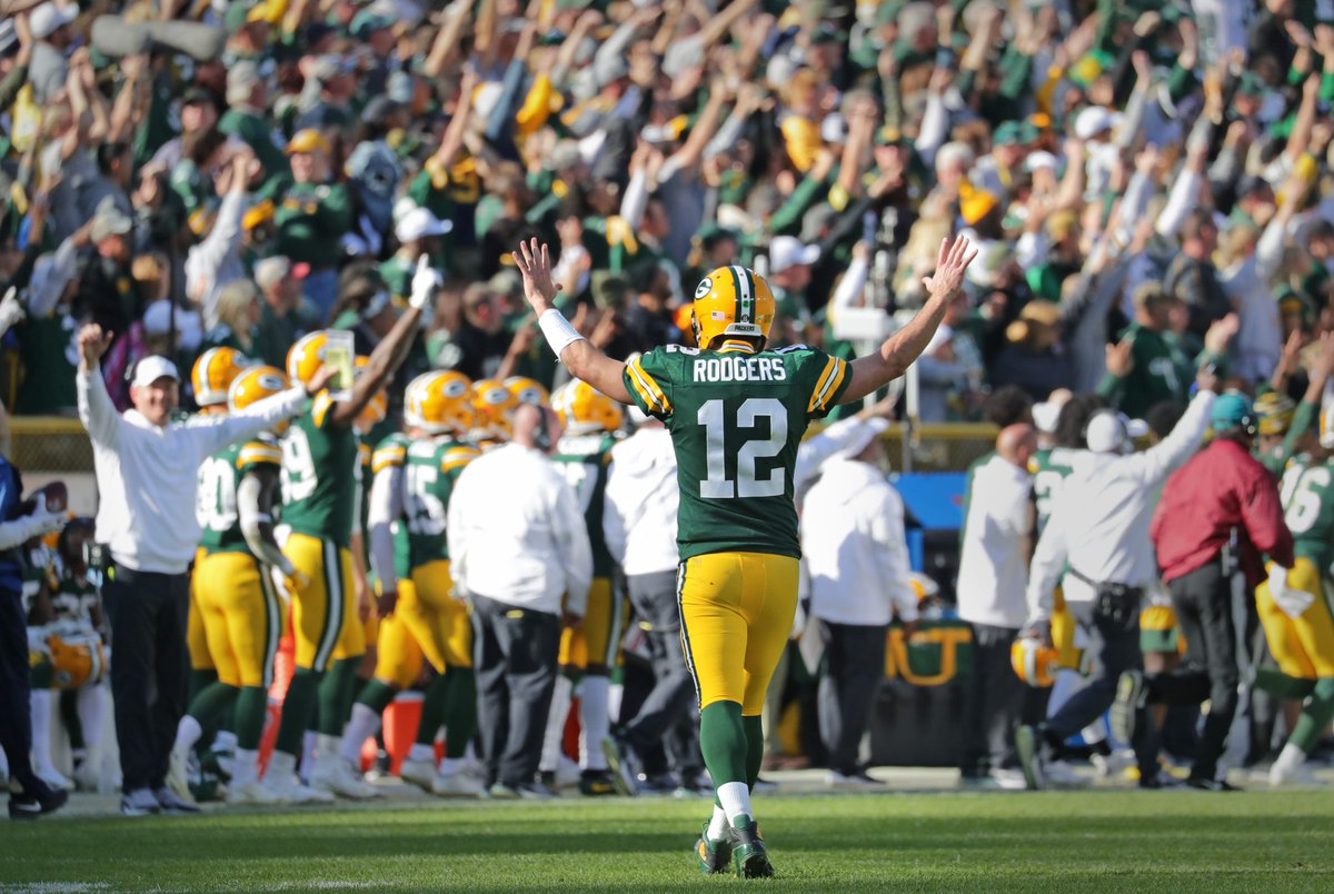 Is the window still open for the #Packers?  If so, how wide open/how many years is it?  Follow @BigShowNetwork