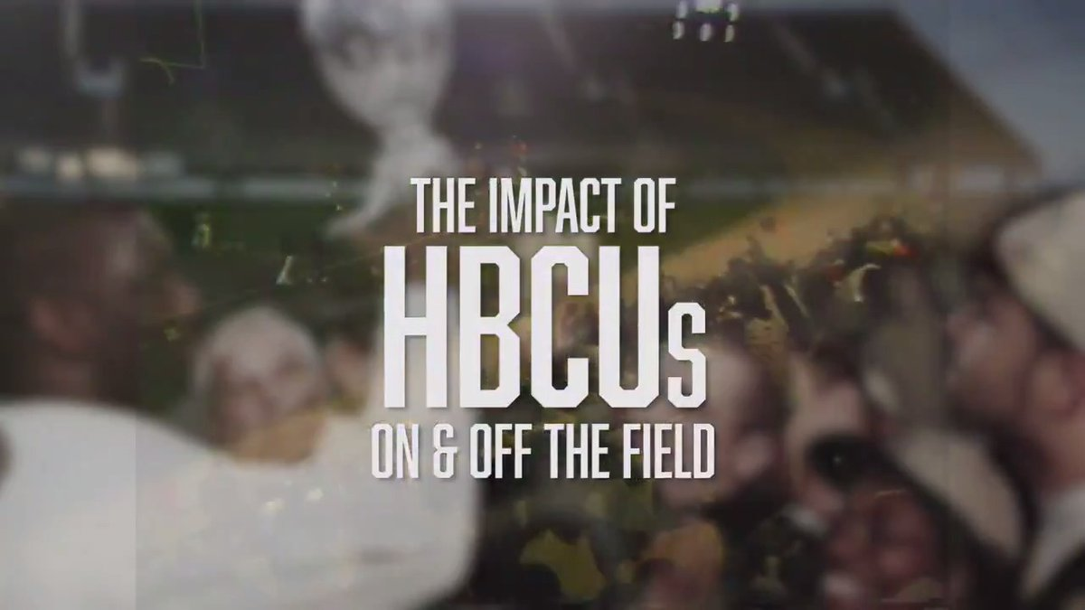 The impact of HBCUs on and off the field is significant.  We take an inside look at the importance of historically black colleges and universities.   #BlackHistoryMonth