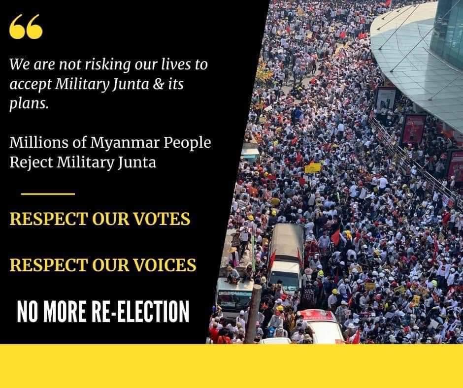#Feb23Coup  #savemyanmar_burma  #SaveMyanmarCitizens  #ASEAN_Respect_Our_Votes #RespectOurVotesAsean 🇮🇩🇧🇳🇰🇭🇱🇦🇲🇾🇻🇳🇹🇭🇵🇭🇸🇬 https://t.co/KOqeUs0GWc