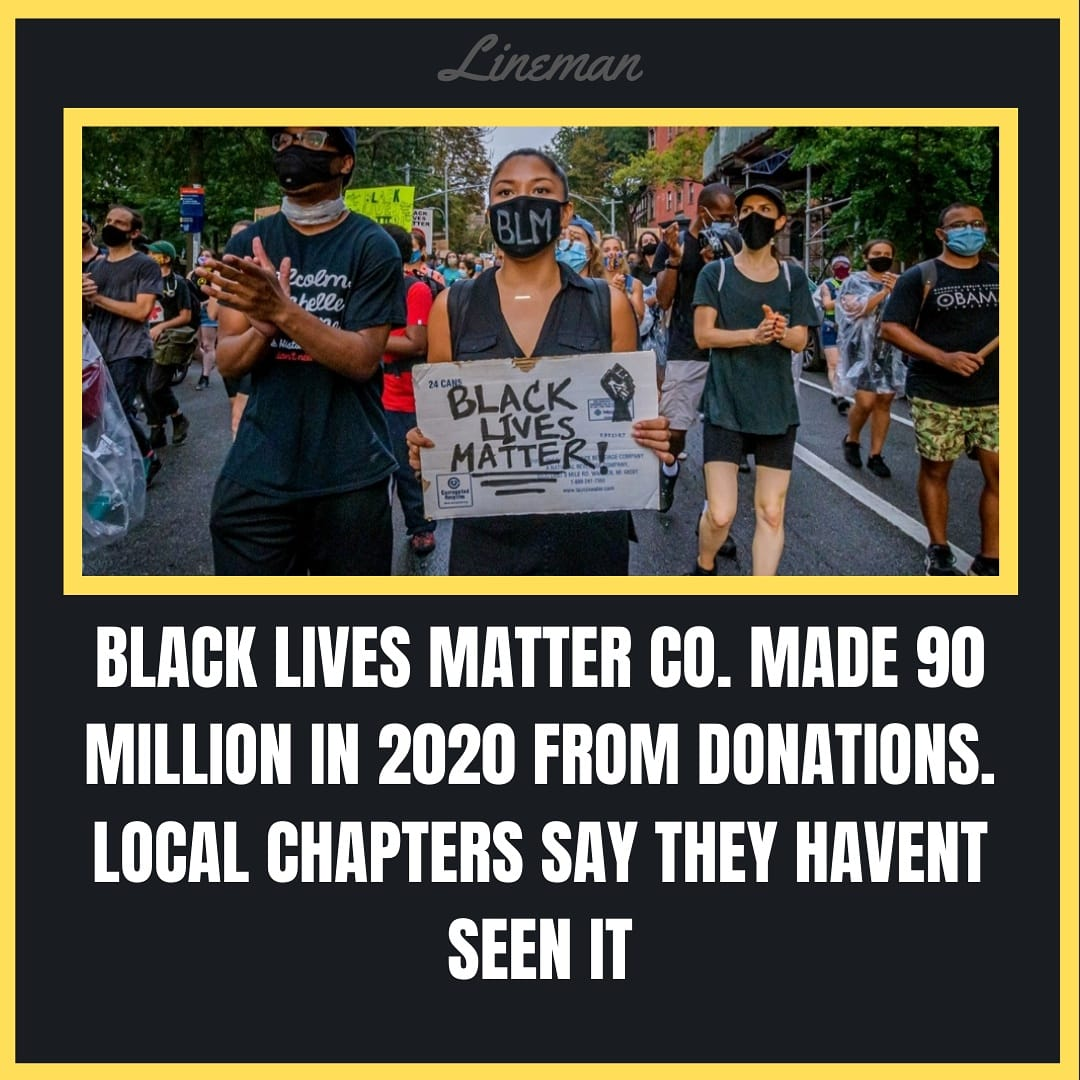 (1/2) While the #marxist at the top of the #blm food chain become fat cats the #local #blacklivesmatter chapters say they haven't noticed the #fundraising change anything in their area.  The #founders of BLM described themselves as #marxists