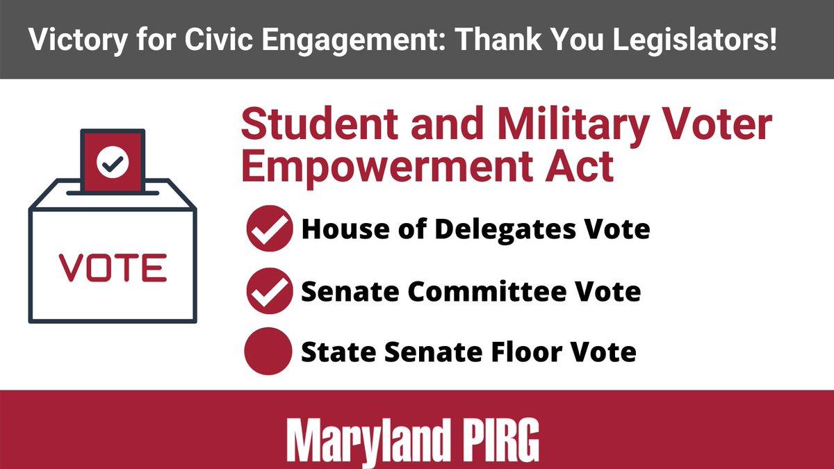 Cheers to the Senate EHEA Committee for passing this bill with bi-partisan support! TY @PaulPinsky @CherylKagan @ClarenceLamMD @StateSenMaryW @katiefryhester @SenatorEllis28 @ObiePatterson @MDSenate @MDSenateGOP https://t.co/REcIHIMmZD