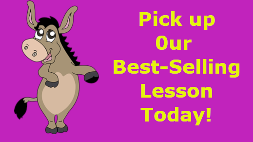 Balaam and his Talking Donkey. Your students will love it and you will too! #KidsMinistry #kidmin #pastors #CM #CmConnect #Church #Churches #biblecurriculum #ChildrensMinistry #Jesus #teacherspayteachers #Curriculum #God #Sunday Here's where to find it: