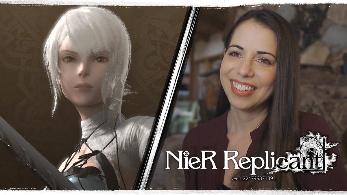 No more guessing – today say 👋 to the English voice cast of #NieR Replicant ver.1.22474487139… 🤩 Adult Protagonist: @RayChase Young Protagonist: @AirZach Grimoire Weiss: @VoiceOfOBrien Kainé: @LauraBaileyVO Emil: @MrsJulieATaylor Devola/Popola: @EdenRiegel